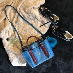 Pour La Victoire colorblock Provence Leather bag